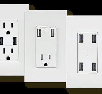 Leviton chargeur USB