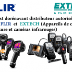Flir et Extech Instruments maintenant disponible chez Gray